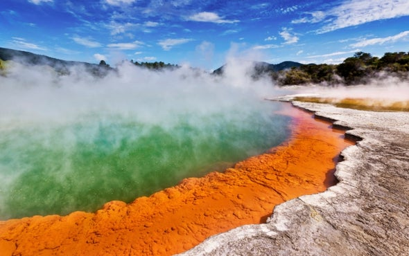 """Zombie Volcano"" Slowly Grows beneath New Zealand"