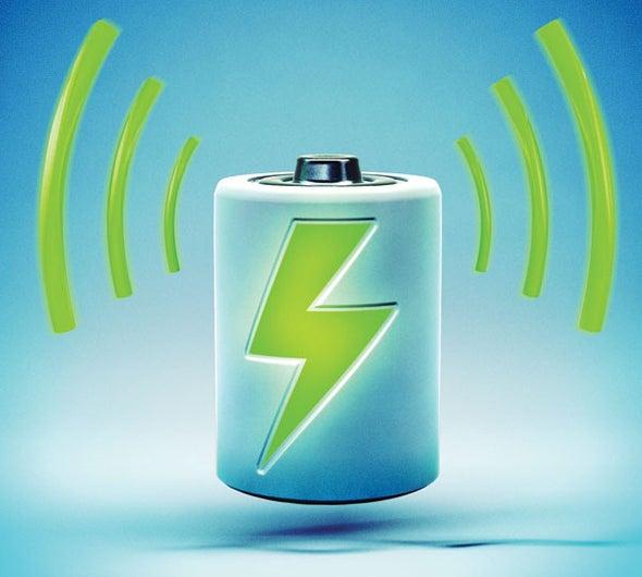 wireless gadget recharging with sound waves scientific american