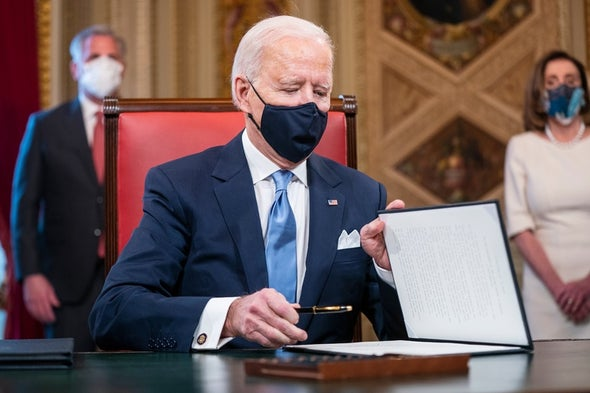 Biden Aims for 100 Million COVID Vaccinations in First 100 Days