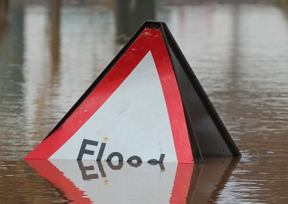 Winter Floods Linked to Global Warming