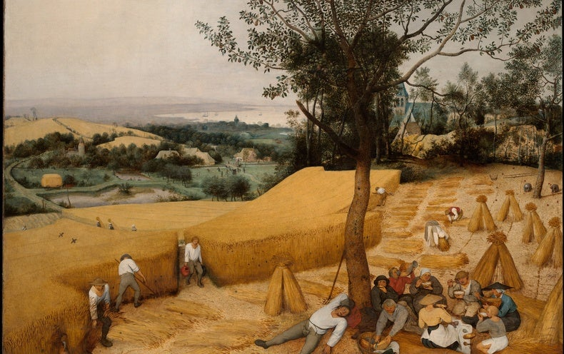 Old Art Offers Agriculture Info - Scientific American