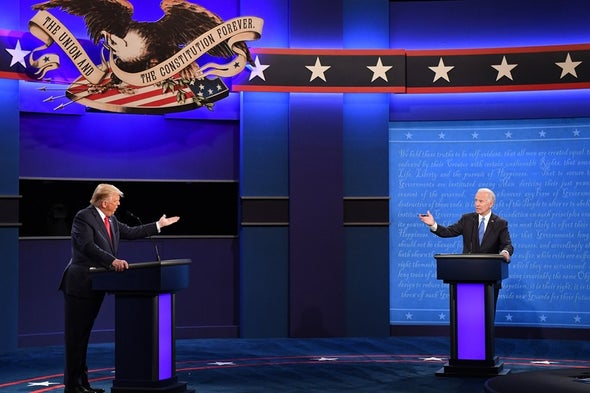 Climate Portion of Final Trump-Biden Debate Revolved Around Ending Oil, Wind 'Fumes'