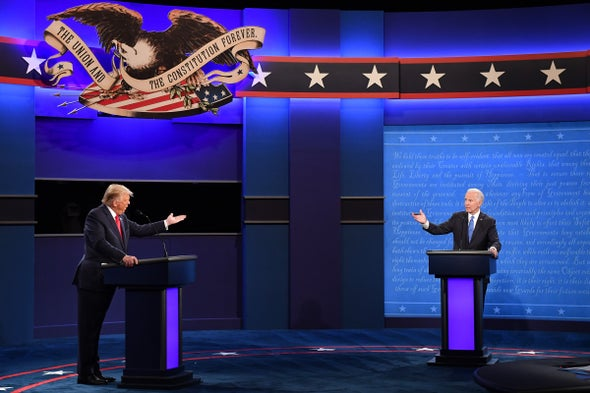 Climate Portion of Final Trump-Biden Debate Revolved Around Ending Oil, Wind 'Fumes'