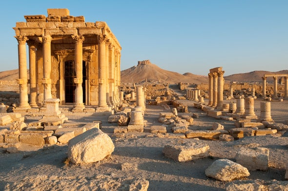 Geologists Measure Bullet Damage to Ancient Middle Eastern Settlements