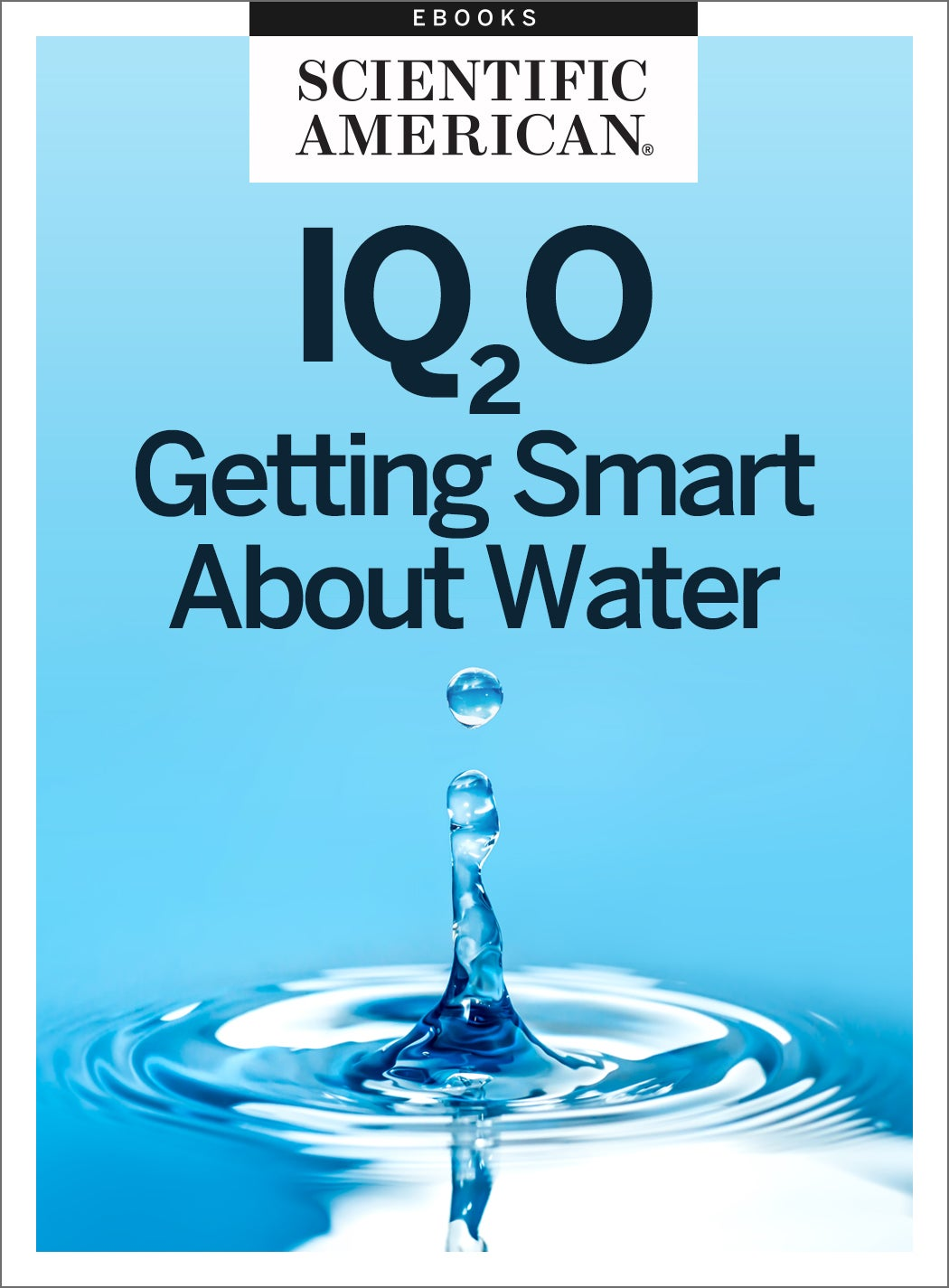 IQ2O: Getting Smart About Water
