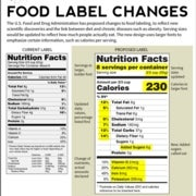 New Nutrition Labels Are a