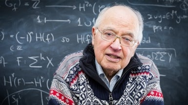 Mathematical Beauty: A Q&A with Fields Medalist Michael Atiyah