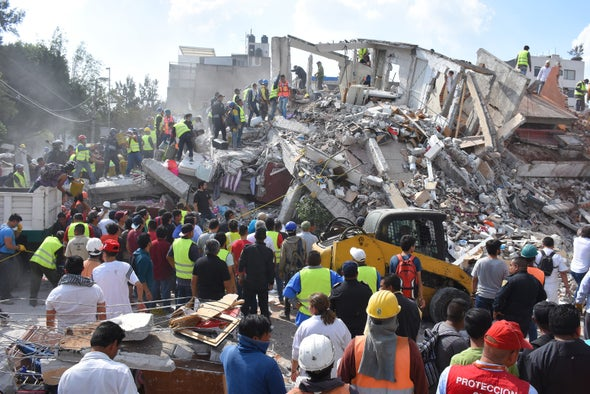 Pair of Deadly Mexico Quakes Puzzles Scientists