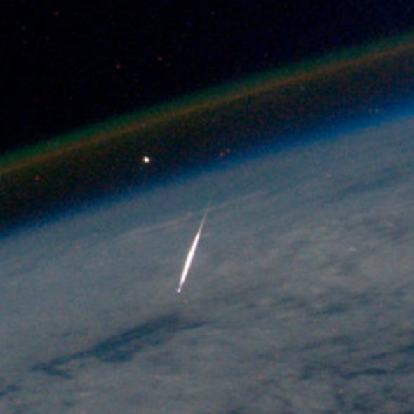 Astronaut Snaps Spectacular Meteor Photo from Space
