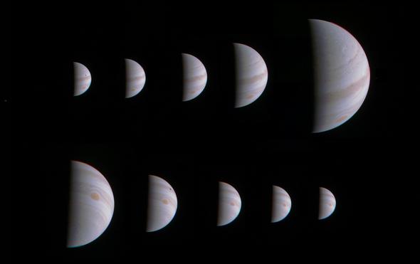Jupiter Mission's Computer Glitch Delays Data-Gathering