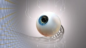 New Artificial Eye Mimics a Retina's Natural Curve