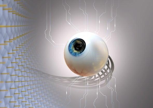 New Artificial Eye Mimics a Retina's Natural Curve