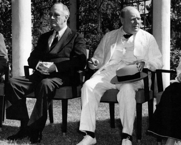 Churchill's Extraterrestrials