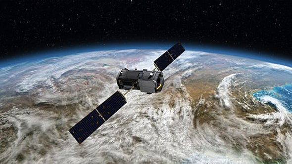 Earth's Breathing Watched by Satellite
