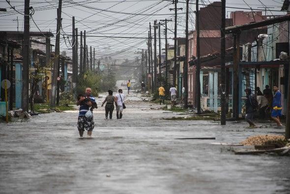 Cholera Fears Rise Following Atlantic Hurricanes