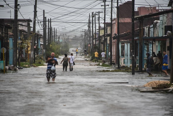 Cholera Fears Rise Following Atlantic Hurricanes