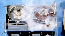 Self-Destructing Circuits Mimic <i>Mission: Impossible</i> Tape