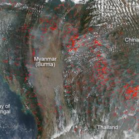 NASA Satellite Images Provide Clues to Understanding Fire across the Globe [Slide Show]