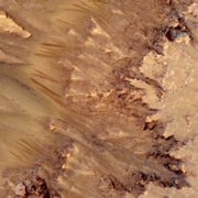 Mars Bars: Seasonal Markings on Martian Slopes Could Indicate Flowing Water