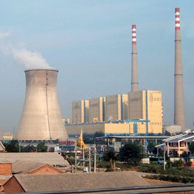 Water Demands of Coal-Fired Power Drying Up Northern China