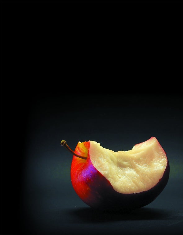 Poem: 'Turing and the Apple'