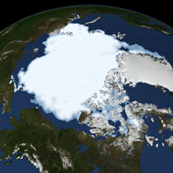Arctic Sea Ice Hits Record Low