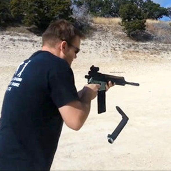 3-D Printable Gun Part Fails on Sixth Shot
