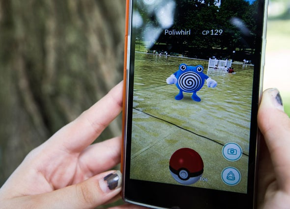 Is Pokémon GO Really Augmented Reality?