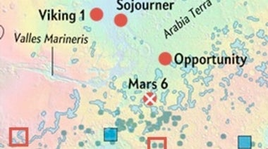 Mapping Mars: Where Have All the Landers Gone? [Interactive]