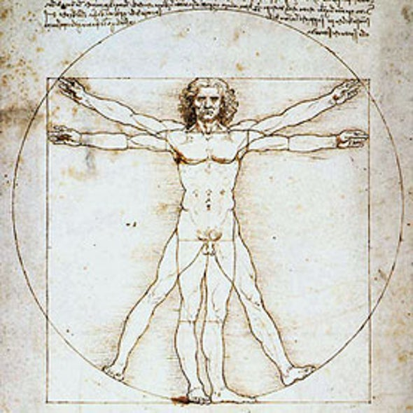 "Did Leonardo da Vinci Copy His Famous ""Vitruvian Man""?"