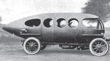 Sleek and Sexy Car, 1915