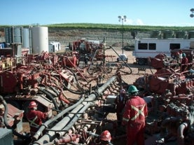 emissions caused from fracking