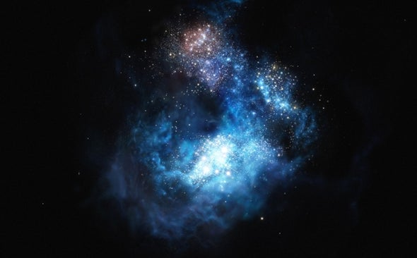 Astronomers Claim to Take First Glimpse of Primordial Stars