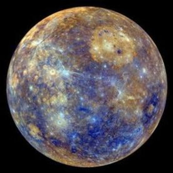 Mercury Is Shrinking More Than Thought
