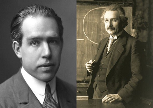 Einstein–Bohr Friendship Recounted by Bohr's Grandson