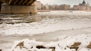 Why Did Europe's Danube River Freeze?