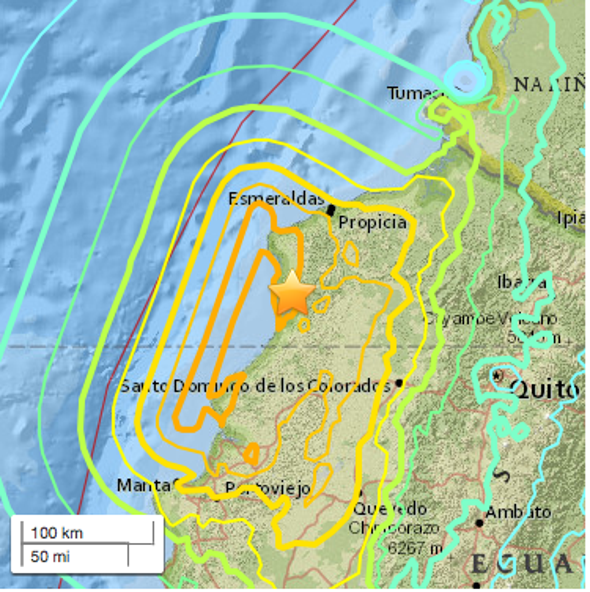 Ecuador Quake Is on a Fault That Generates Monster Shakers