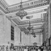 PROSPECTIVE VIEW OF THE GREAT WAITING ROOM, 1912: