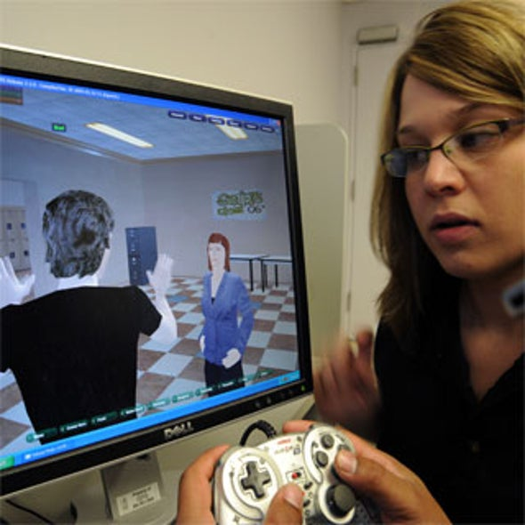 Therapists Use Virtual Worlds to Address Real Problems