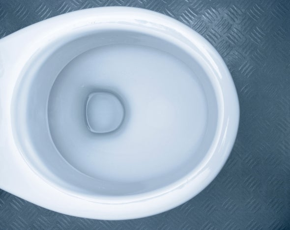 Superslippery Toilets Squash Water Wastage