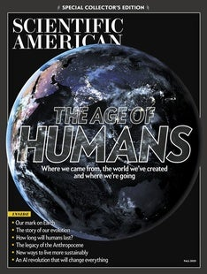 The Age of Humans
