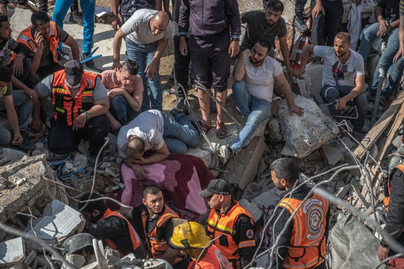 A New Mental Health Crisis Is Raging in Gaza