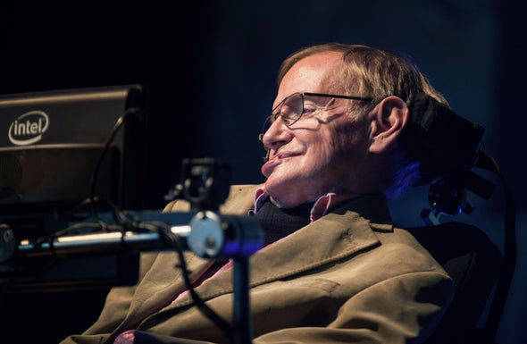 Stephen Hawking as Accidental Ambassador for Assistive Technologies