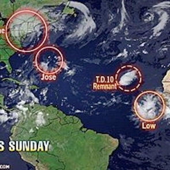 More Tropical Woes: Jose Near Bermuda; Katia Up Next?