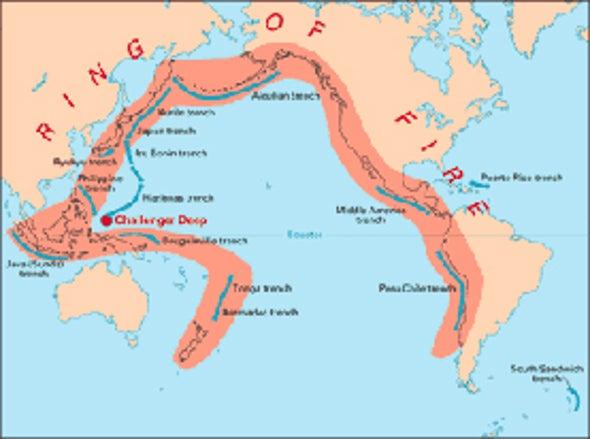 Could the Recent Pacific Megaquakes Trigger a West Coast Temblor?