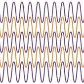 Wave-line Illusion
