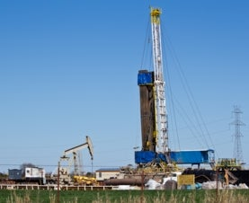 oil drilling and fracking sites