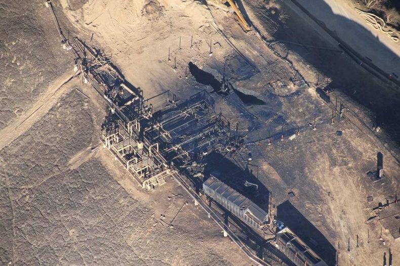 Dangerous Methane Leak Requires Emergency Measures 1ACF23F5-E07E-4E3F-8522D90D18BA42D2