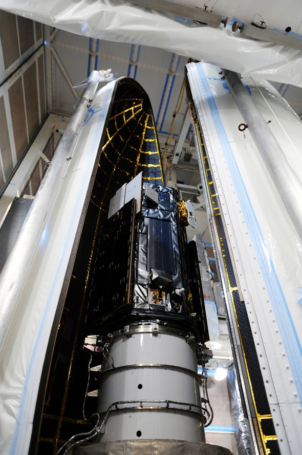 """Carbon Dioxide-Monitoring Satellite """"Go"""" for Tuesday Launch"""