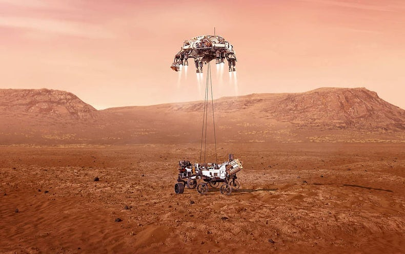 Perseverance Has Landed! Mars Rover Begins a New Era of Exploration